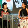 Resilience runs in the family: cousins accept distinguished honour at LOVE HER